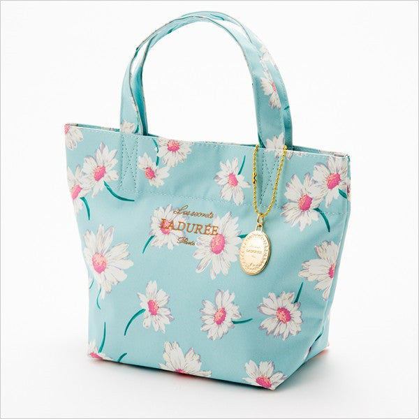 Tote Bag S Flower Marguerite Blue Laduree Japan