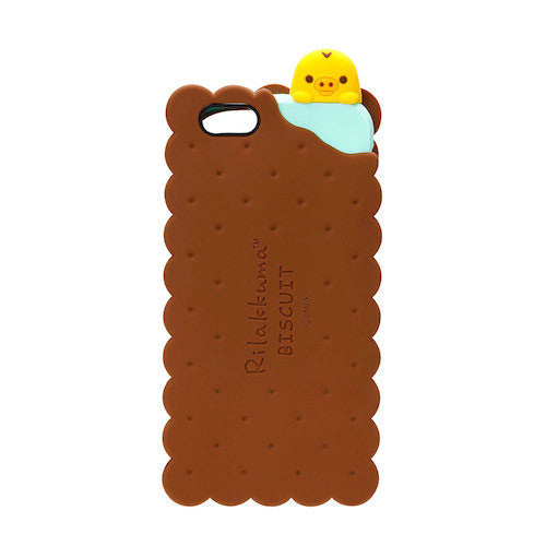 Kiiroitori Duck Biscuits iPhone 6s / 6 Silicon Case San-X Japan Rilakkuma