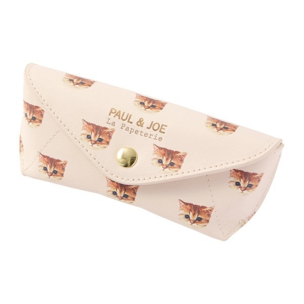 Glasses Case Nunetto Cat Mocha PAUL & JOE Japan