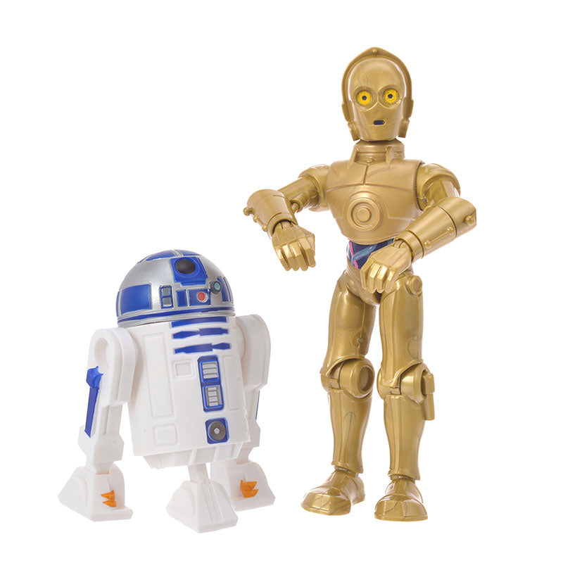C-3PO & R2-D2 Figure Toy Box Star Wars The Rise Of Skywalker Disney Store Japan