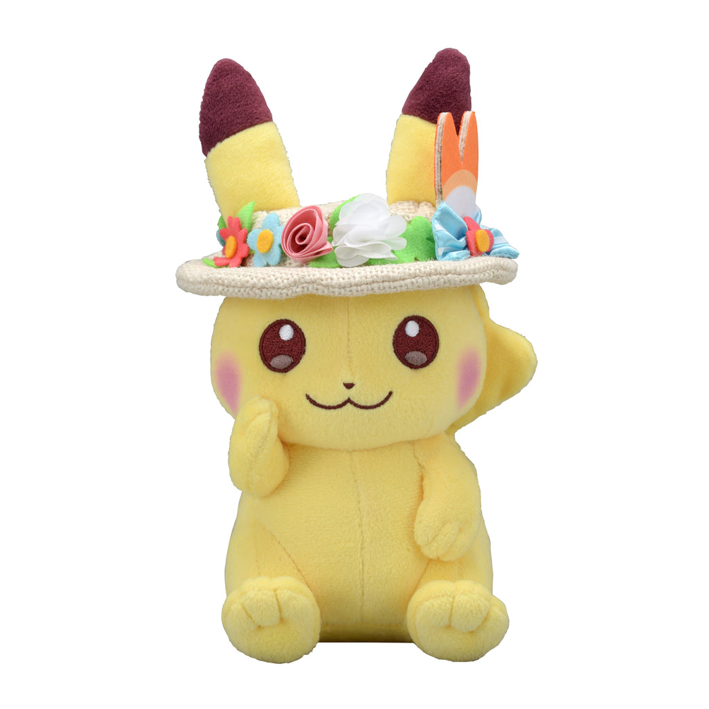 Pikachu Plush Doll Easter Pokemon Center 2020 Japan