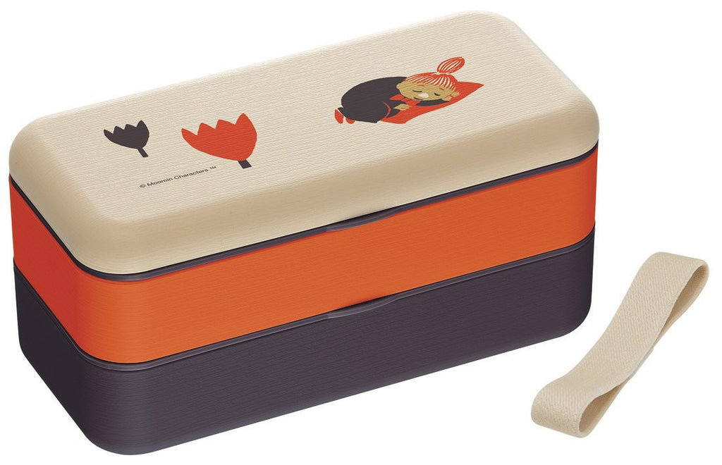 Moomin Little My Lunch Box Bento Simple 600ml SLBW6WB Flower Japan SKATER