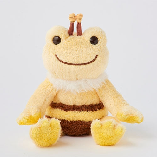 Pickles the Frog Bean Doll Plush Bee Japan