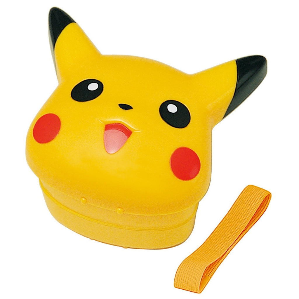 Pikachu Lunch Box Bento Face Pokemon Center Japan Original