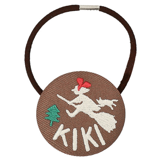 Kiki's Delivery Service Ponytail Holder Embroidery Studio Ghibli Japan