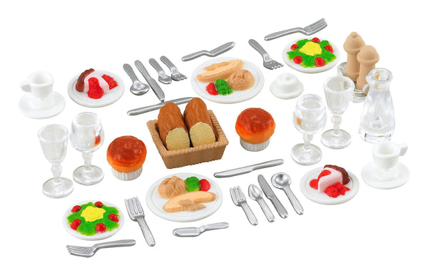 Furniture Dinner Set Ka-409 Sylvanian Families Japan Calico Critters