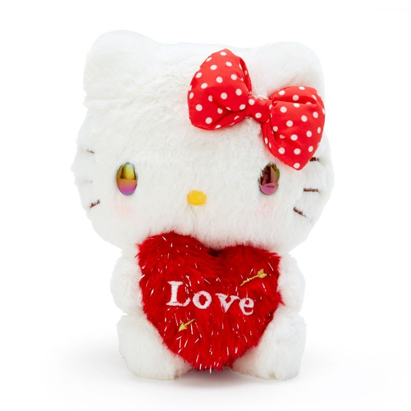 Hello Kitty Plush Doll Heart Cupid Sanrio Japan Valentine's Day