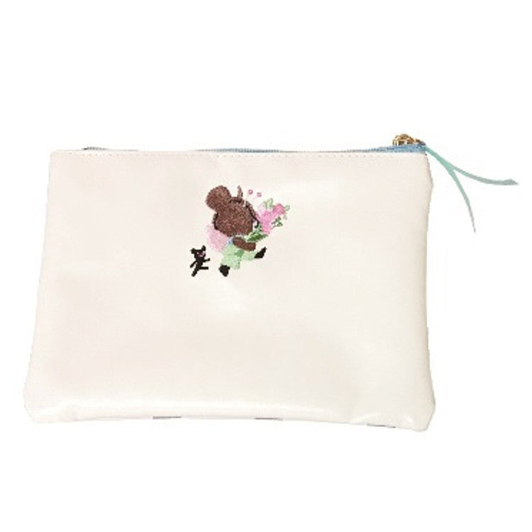 Jackie Flat Pouch Picnic the bears' school Japan