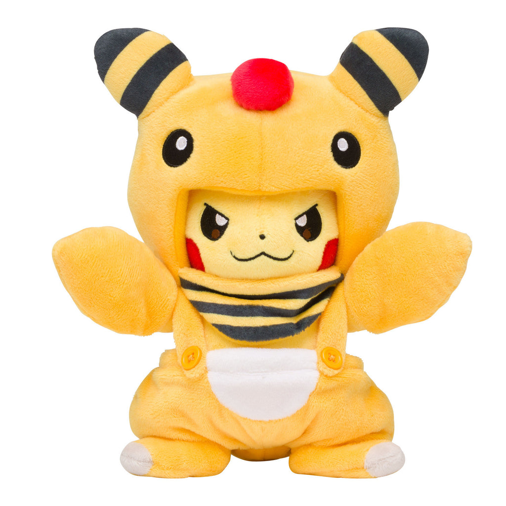 Pikachu Plush Doll Ampharos Mania Pokemon Center Japan Original