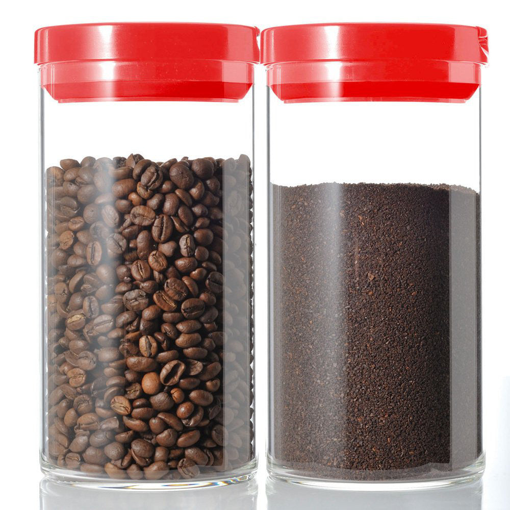 Coffee Canister Red M MCN-200R Hario Japan