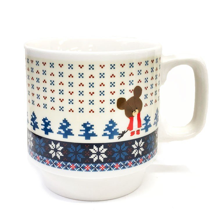 Jackie Stacking Mug Cup Nordic Blue the bears' school Japan