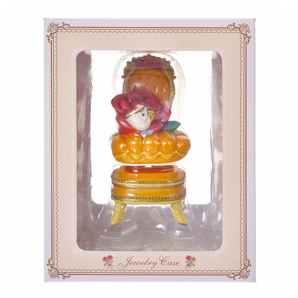 Belle & Chip Memo Stand & Accessory Case Chair Princess Party Disney Store Japan