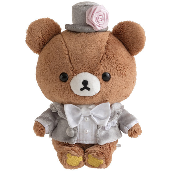 Chairoikoguma & Korilakkuma Wedding Welcome Plush Doll San-X Japan 2020