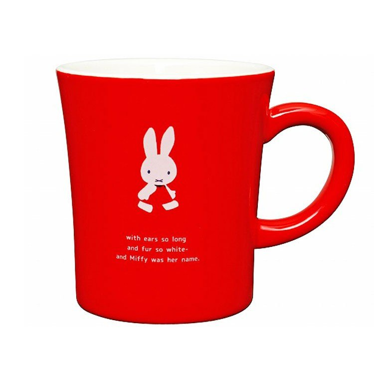 Miffy Mug Cup First Red Dick Bruna Japan