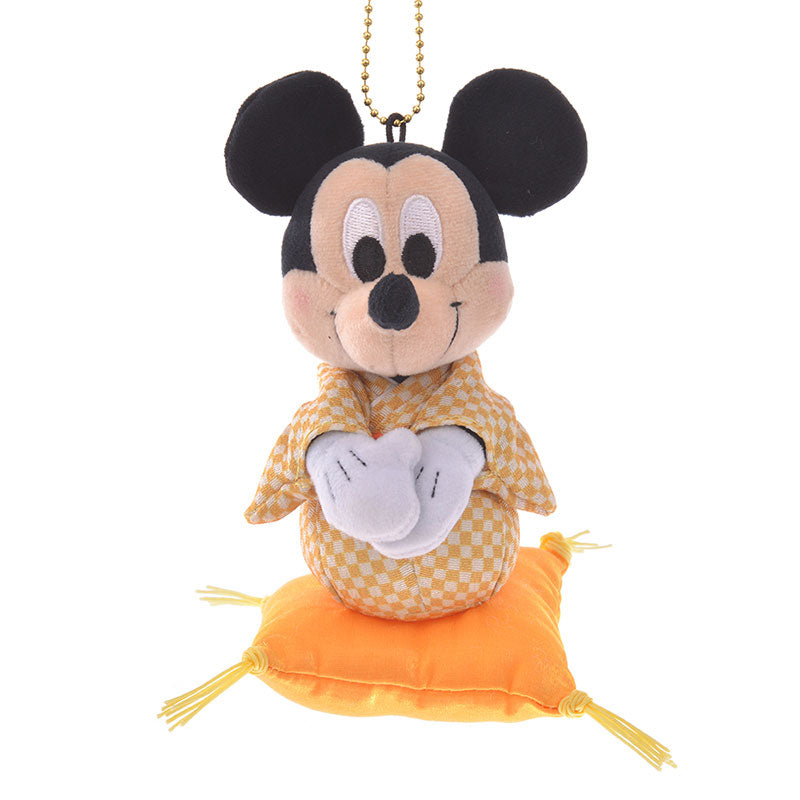 Mickey Plush Keychain Eto 2020 New Year Disney Store Japan