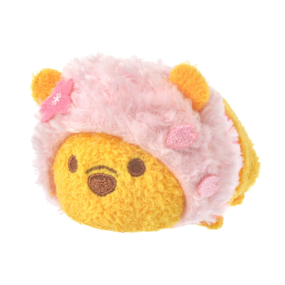 Winnie the Pooh Tsum Tsum Plush Doll mini S Disney Store Japan Sakura 2021