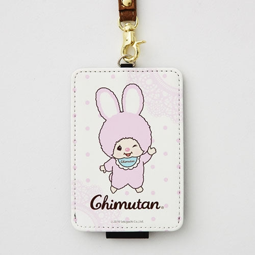 Chimutan Pass Case Lace Monchhichi Japan 2019