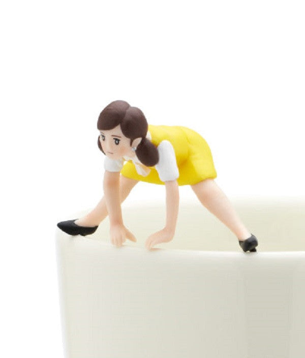 Figure Coppu no Fuchiko LOFT Yellow Balance exercise Edge of the Cup