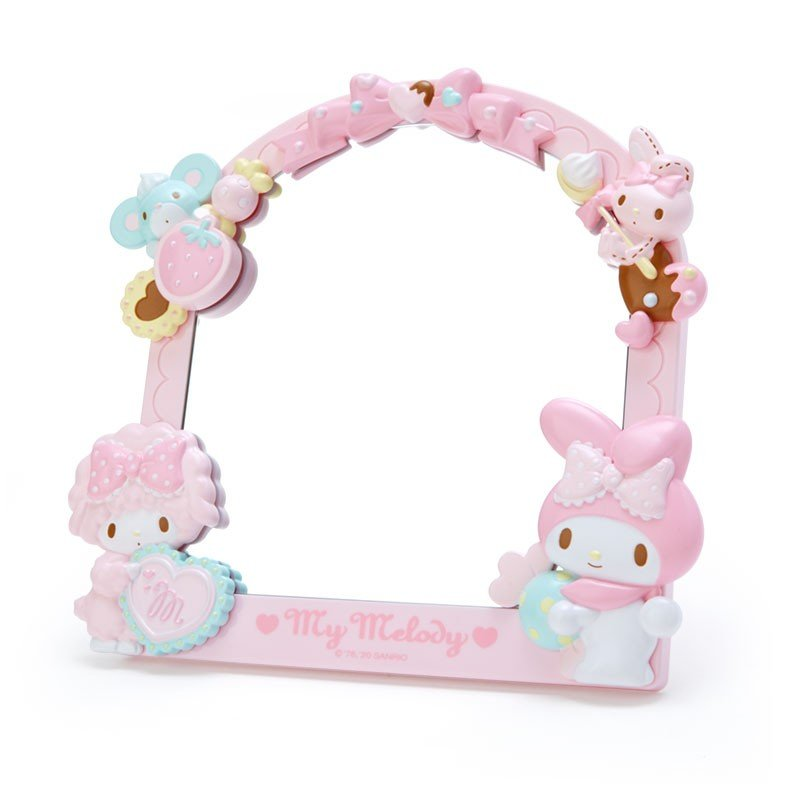 My Melody Decoration Stand Mirror Sanrio Japan
