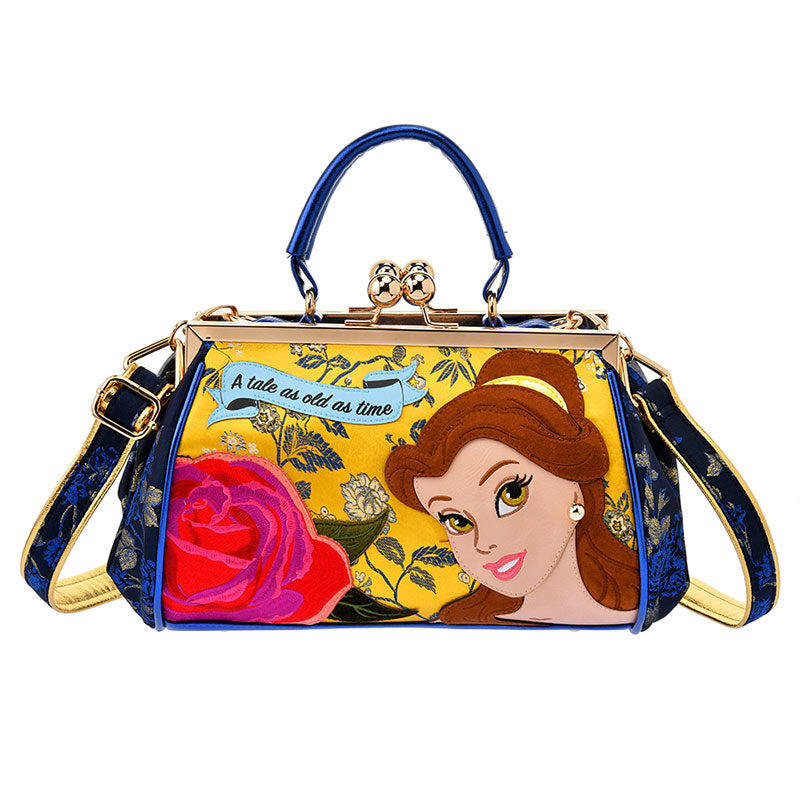 Beauty and the Beast Belle Shoulder Hand Bag Irregular Choice Disney Store Japan