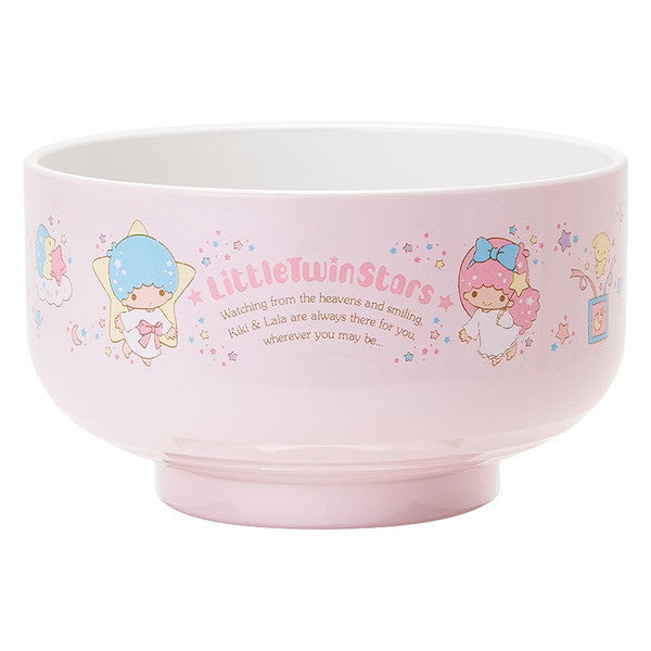 Little Twin Stars PET Rice Bowl Star Sanrio Japan Kiki Lala