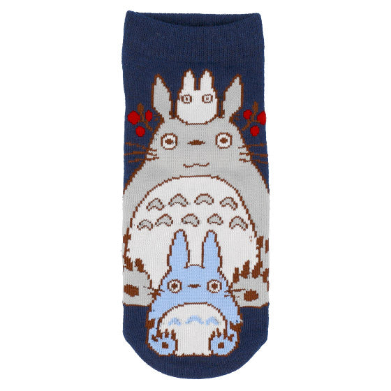 My Neighbor Totoro Socks 23-25cm Navy Studio Ghibli Japan 4905489946572