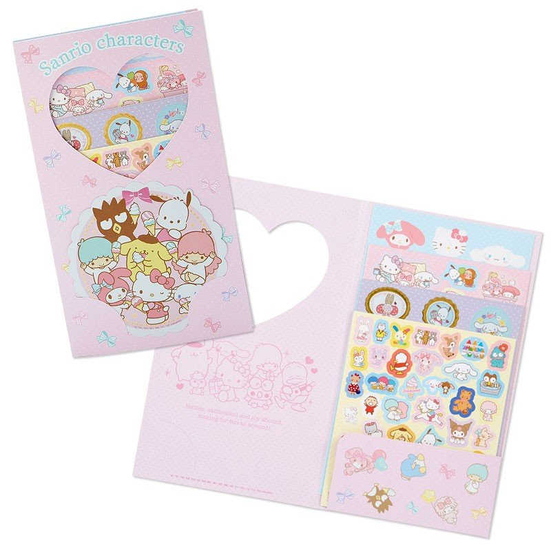 Volume Sticker Set Character Sanrio Japan