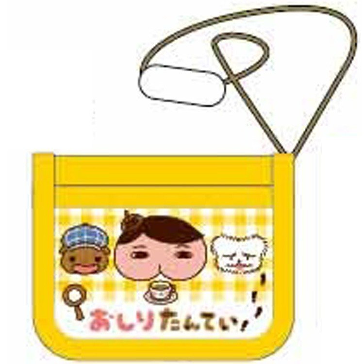 Oshiritantei Butt Detective Wallet C Yellow Japan