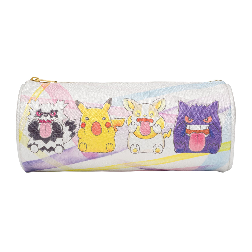 Cylindrical Pen Case Pencil Pouch BEROBE~! Pokemon Center Japan