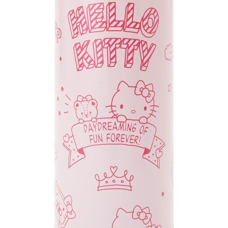 Hello Kitty Stainless Bottle 470ml with Shoulder & Cover Sanrio Japan