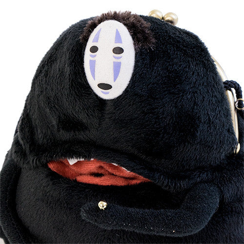 Spirited Away No Face Kaonashi Clasp Pouch Musha Musha Studio Ghibli Japan