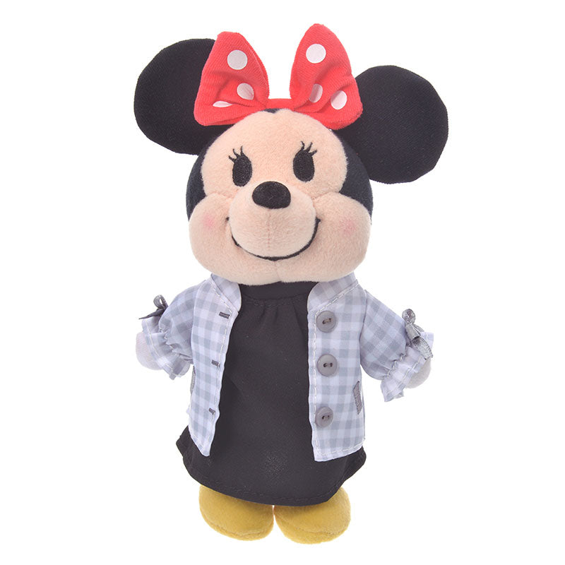 Costume for Plush nuiMOs Doll Blouson set Gingham Plaid Girl Disney Store Japan