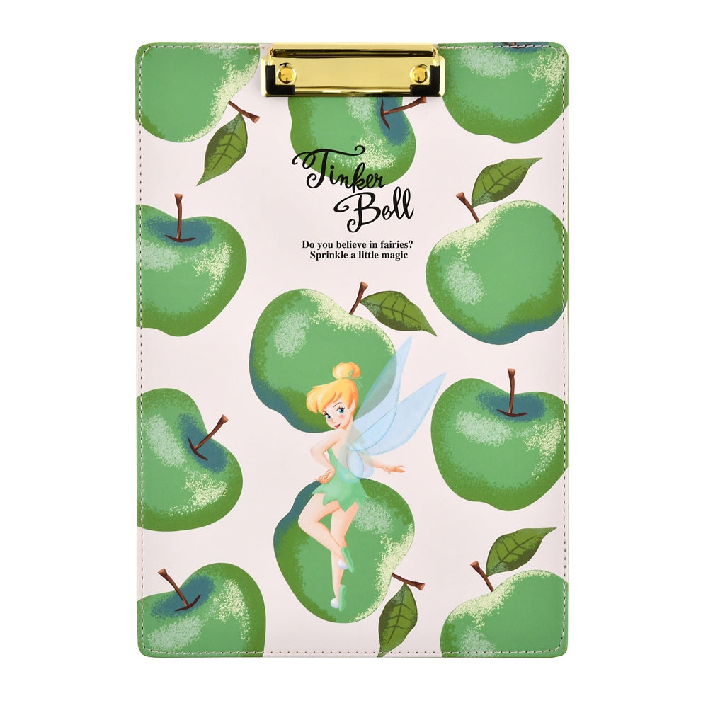 Tinker Bell Clipboard Green Apple Ringo Zakka Disney Store Japan