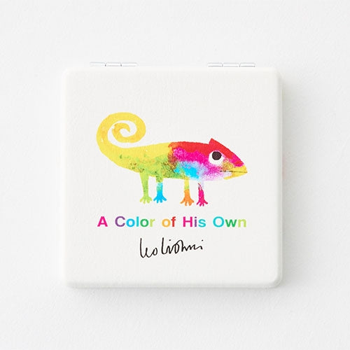 A Color of His Own Chameleon Folding Mirror Leo Lionni Japan
