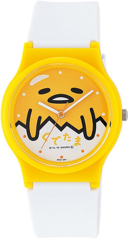 Gudetama Egg Wrist Watch Waterproof HT01-001 CITIZEN Q&Q Japan Sanrio