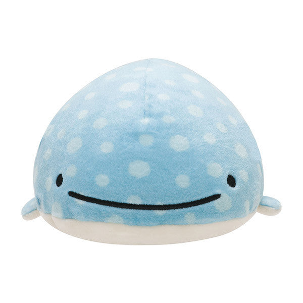 Whale Shark Jinbei San Super Mochimochi Soft Plush Doll S San-X Japan Rare