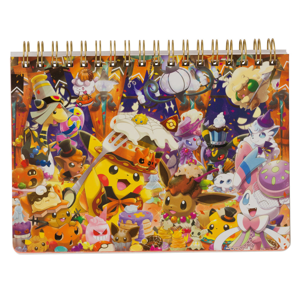 B6 Double Ring Notebook We Are TEAM TREAT Halloween 2018 Japan Pokemon Center