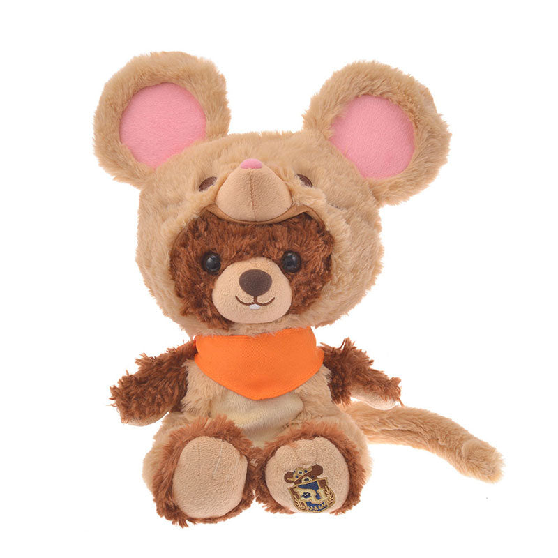 UniBEARsity Costume for Plush Doll Mouse Brown Disney Store Japan New Year