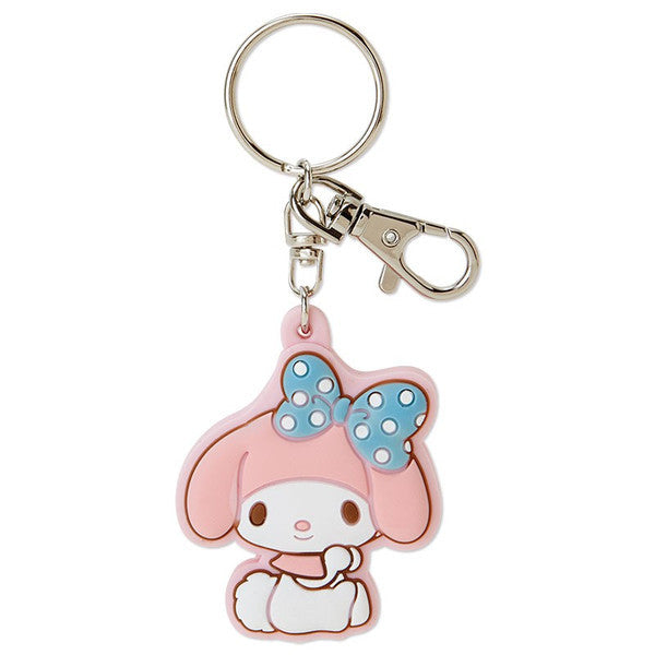 My Melody Rubber Keychain Watch Sanrio Japan