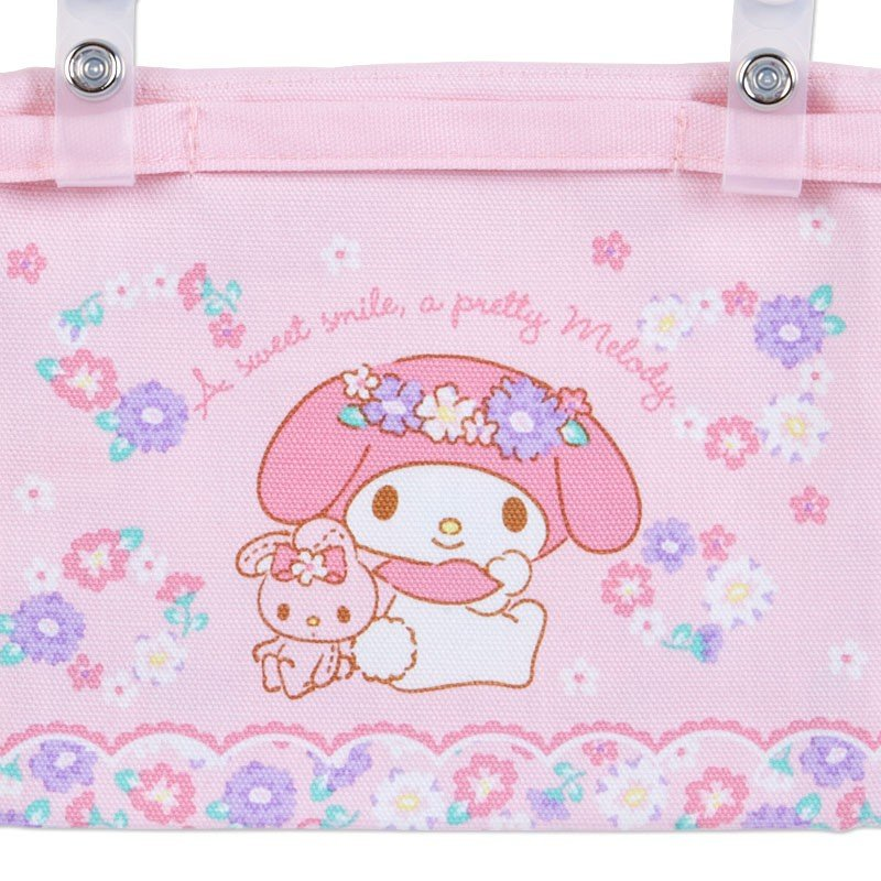 My Melody Pocket Pouch Flower Sanrio Japan