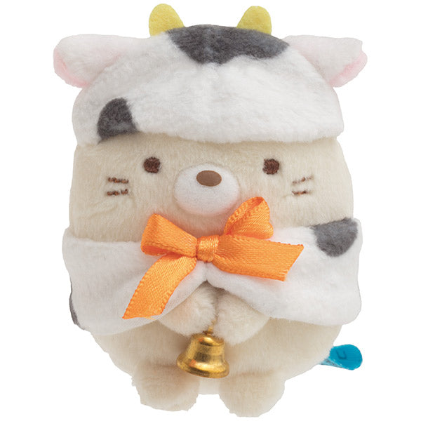Sumikko Gurashi Neko Cat mini Tenori Plush Doll San-X Japan New Year 2021