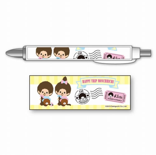 Monchhichi Mechanical Pencil A HAPPY TRIP MONCHHICHI Japan