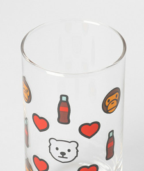Coca-Cola x BAPE MILO GLASS A BATHING APE Japan