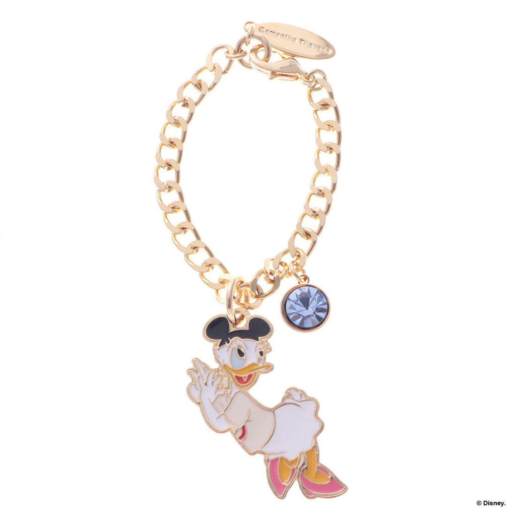 Daisy Bag Charm Gold Mickey Mouse Club Samantha Thavasa Disney Japan