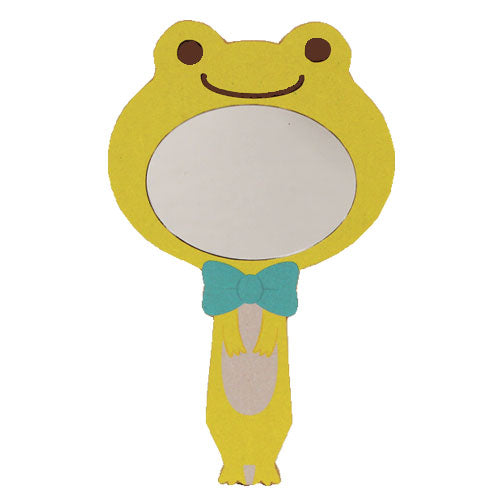 Pickles the Frog Hand Mirror Impersonator Yellow Japan