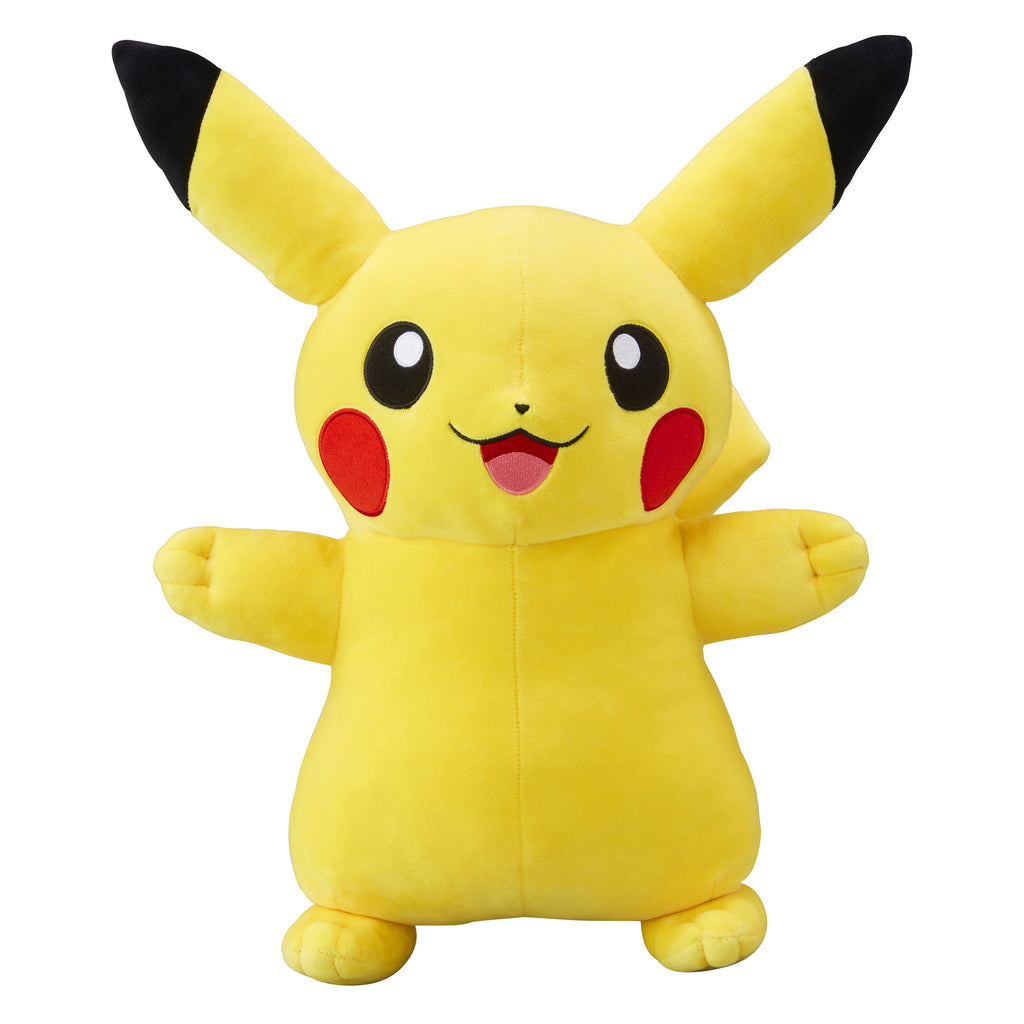 Pikachu Plush Doll Smile Life-size Pokemon Center Japan Original