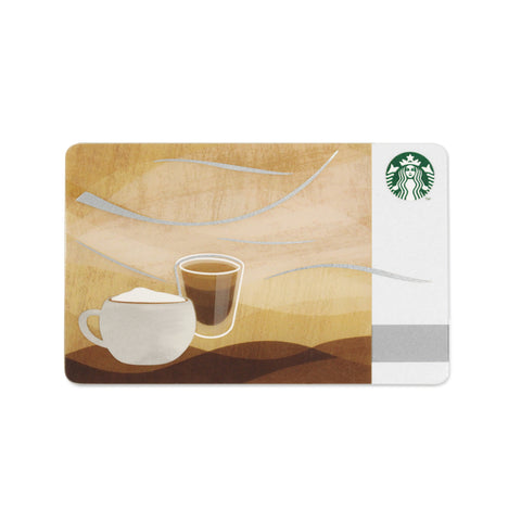 Starbucks Coffee Gift Card Japan Melt 2015 June