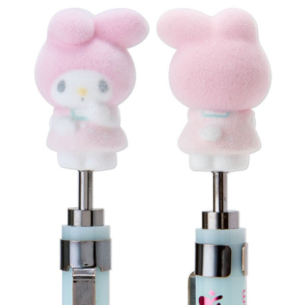 My Melody Flocky Mascot Mechanical Pencil Dress Up Sanrio Japan