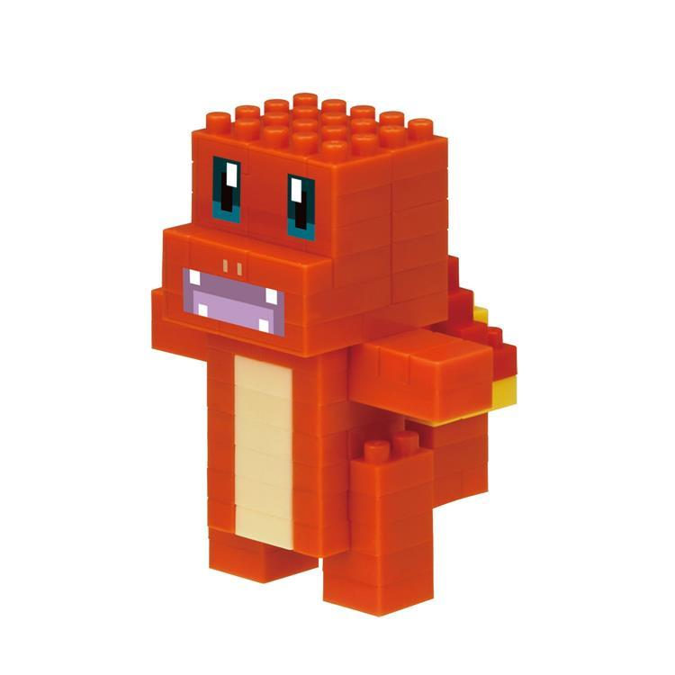 Charmander Hitokage Block Building Toy nanoblock Pokemon Square Japan
