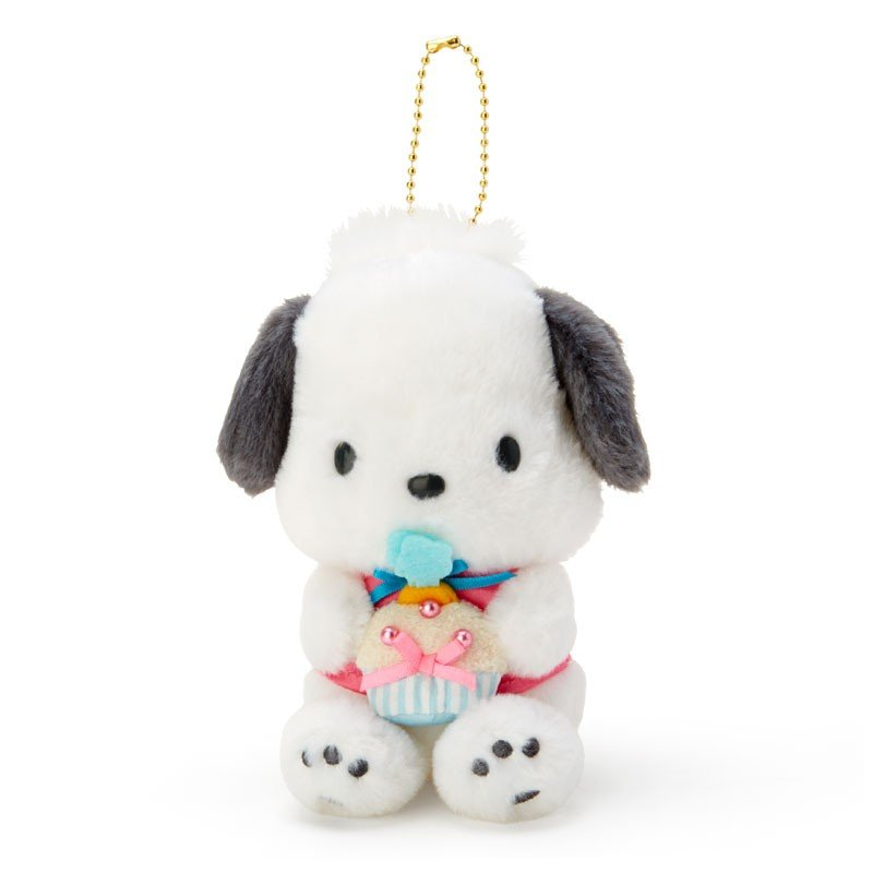 Pochacco Plush Mascot Holder Keychain Birthday Sanrio Japan